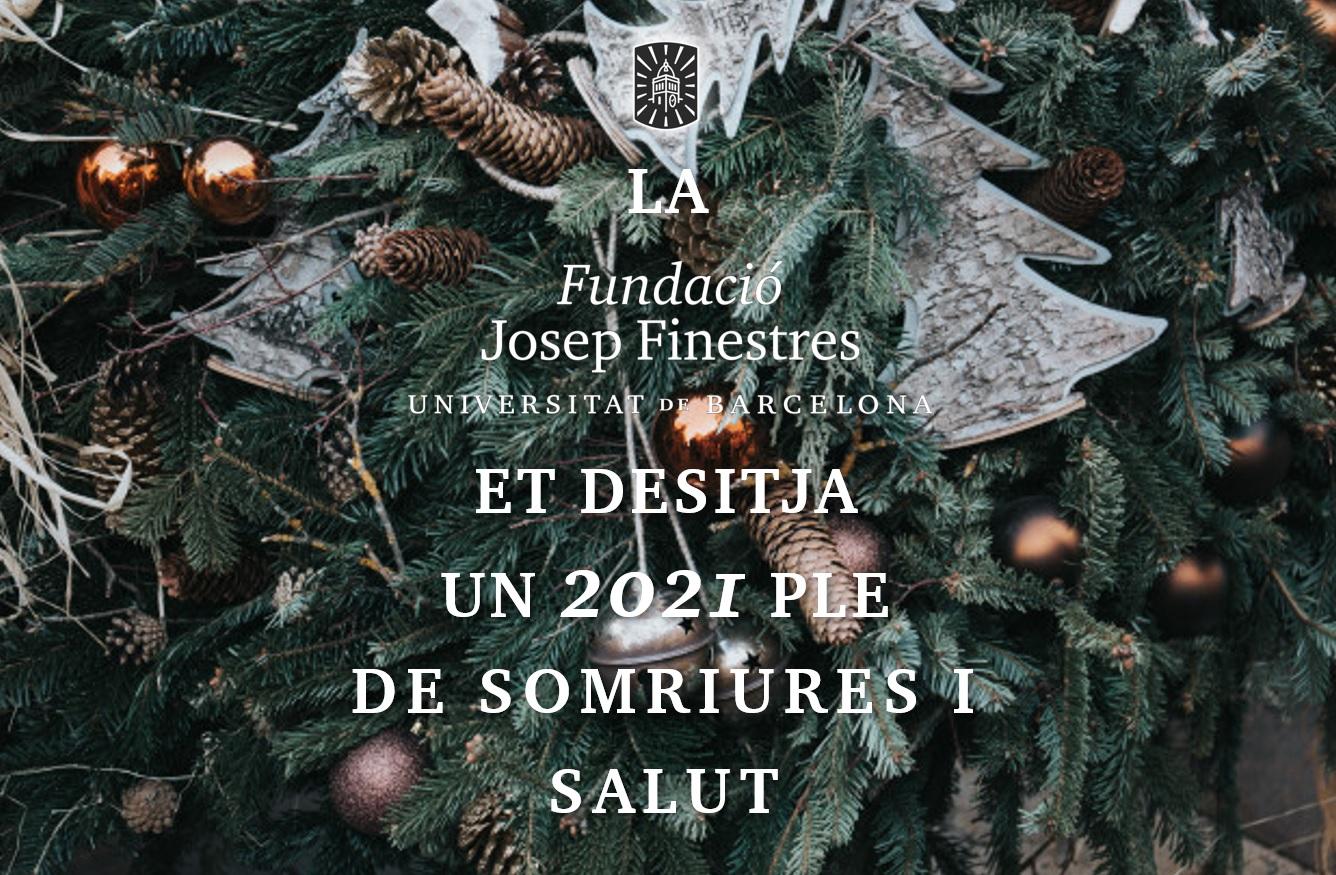 L'Hospital Podològic Universitat de Barcelona els desitja bones festes!