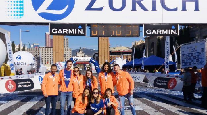 Un año más, en la Zurich Marató de Barcelona
